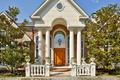 Картинка дом, колонны, особняк, вход