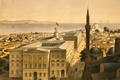 Картинка пейзаж, город, дома, Стамбул, Турция