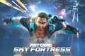 Картинка Square Enix, Avalanche Studios, Rico Rodriguez, Sky Fortress, ust Cause 3