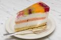 Картинка торт, слои, кусок, желе