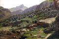 Картинка пейзаж, горы, картина, склон, Карлос де Хаэс, Пикос де Эуропа