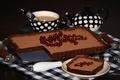 Картинка кофе, пирог, смородина, выпечка