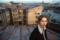 Картинка девушка, пирсинг, веснушки, рыжеволосая, на крыше, Roman Filippov